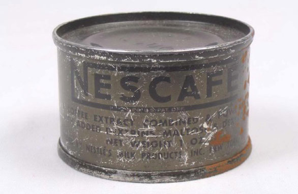 Sample Hypothesis item: Field Ration, U.S. Army K Ration Tin from World War II. Source: Oshkosh Public Museum.